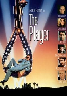 The Player (1992) Director Robert Altman's wickedly funny masterpiece about a slick Hollywood studio executive named Griffin Mill (Tim Robbins) -- a hotshot whose life is falling apart -- is packed with irreverence and myriad star cameos (including appearances from Steve Allen, Cher, John Cusack, Peter Falk and Jeff Goldblum). A rival wants his job, and he's facing a murder rap. But will Griffin face the music or turn his liabilities into assets?