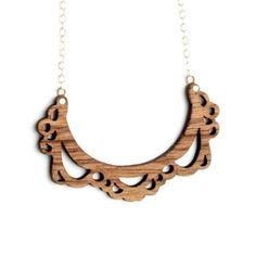 Skyejuice - Daily Dose of Inspiration: Inspirational Friday - Laser Cut Jewelry