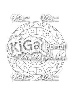 Farben-Mandala 1 Symbols, Peace, Logos, Mandalas, Daycare Ideas, Colors, Logo, Sobriety, Glyphs