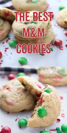 The Best M&M Christmas Cookies! Easy Cookie Recipe to make for Santa on Christmas Eve or if you are looking for a new Holiday Tradition to start this year! My kids love these M&M Cookies! So easy to make! recipe for kids The Best M&M Christmas Cookies! Best Christmas Cookies, Christmas Snacks, Christmas Cooking, Christmas Eve, Christmas Baking For Kids, Traditional Christmas Cookies, Easy Holiday Cookies, Christmas Dinners, Christmas Desserts Easy