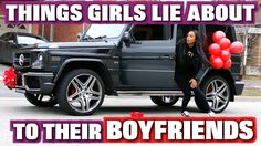 THINGS GIRLS LIE ABOUT TO THEIR BOYFRIENDS