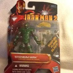 IRONMAN2 Titanium MAN  Just listed last Night please share with your friends or purchase need money for foster dog thanks!