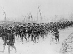 German reserves in France on the road to Albert, east of Amiens, to keep Ludendorff's Spring Offensive from faltering.