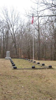 Confederate soldiers mass grave - Shiloh