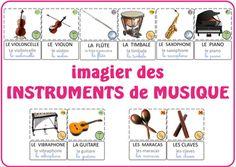 Imagier instruments de musique Saxophone, Music Classroom, Musicals, Education, School, Piano, Cycle 1, Montessori, Culture