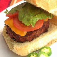 Turkey Burgers with a Bite
