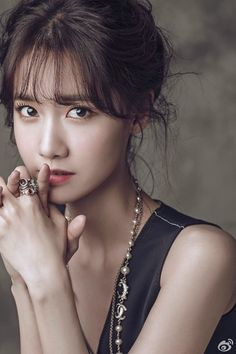 Yoona is a porcelain doll for Elle China