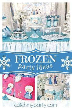 Disney Frozen Birthday Jasmines Party