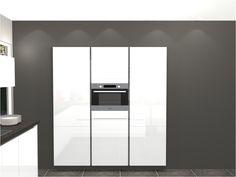 Keukenkast Wit Hoogglans : Best hoogglans wit keuken images kitchens home