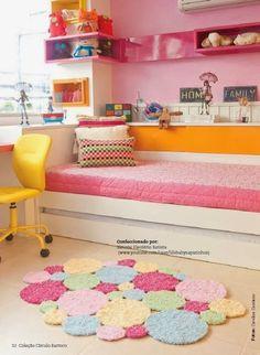 Sapatinhos Para Bebê - Life Baby: Tapete Crochê Bolas Barroco SOFT
