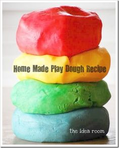 home-made play dough that smells good!!