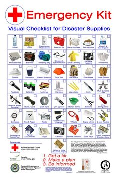 American Red Cross Emergency Kit.  | Basic First Aid by Red Cross | http://www.redcross.org/images/MEDIA_CustomProductCatalog/m4240170_Adult_ready_reference.pdf                                                                                                                                                     More