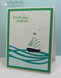 Stampin' Up! Swirly Bird for Sunday Stamps