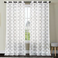 Mchugh Single Curtain Panel