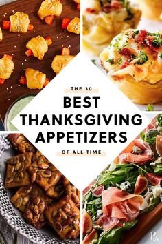 The 30 Best Thanksgiving Party Appetizers of All Time Meat Appetizers Appetizers Appetizers keto Appetizers parties Appetizers recipes Best Thanksgiving Appetizers, Meat Appetizers, Vegetarian Appetizers, Thanksgiving Parties, Thanksgiving Sides, Holiday Appetizers, Party Appetizers, Appetizer Recipes, Holiday Recipes
