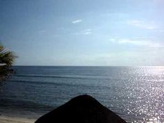Soothing sounds from Half Moon Bay - Akumal, MX