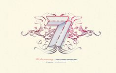 7th Anniversary Letterings by Noem9 Studio