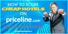Saving up to off great hotels using Priceline bidding sounds scary, but it doesn't have to be. Our ultimate guide will covers every detail and gives you a walk-through video so you know exactly what to do! Miles Credit Card, Saving Money, Money Savers, Great Hotel, Airline Tickets, Cheap Hotels, Cheap Travel, Car Rental, Get One