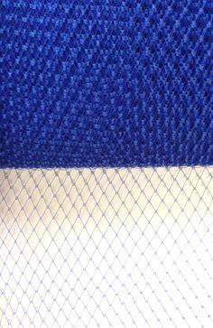 "9"" Veiling Plain - (287) Royal - Millinery Online"