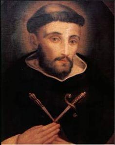 BEATO PEDRO DE RUFFÍA, PRESBÍTERO Y MÁRTIR (1320-1365) Ejerció su vida apostólica especialmente como inquisidor para la defensa de la vida cristiana, atacada por los valdenses y consumó su vida  con el martirio  por Cristo y por sus hermanos en la fe cuando fue asesinado en el claustro del convento de Susa  el 2 de febrero de 1365.