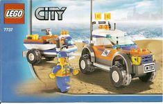 City Coast Guard - Coast Guard 4WD and Jet Scooter [Lego 7737]