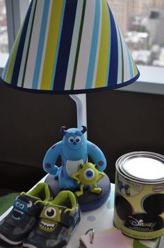 Disney Baby Monsters Inc. Nursery Bedding And Theme