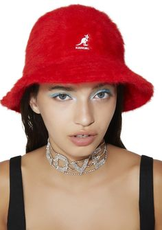8baebdf6987b2 Kangol Scarlet Furgora Casual cuz yer bringing it back shorty. This dope bucket  hat features