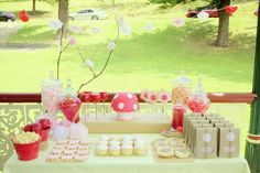 sweet design / Guest Dessert Table Feature / Amy Atlas