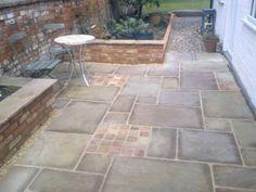 Raj Green Tumbled Courtyard - Stoneworld