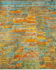 """Artist Paul Klee's Paintings """" Klee's wide-ranging intellectual curiosity is evident in an art profoundly informed by structures and themes drawn from music, nature and poetry"""" Source of quote: http://www.moma.org/collection/artist.php?artist_id=3130"""
