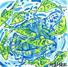 Brightening your Monday from Palm Beach... #lilly5x5