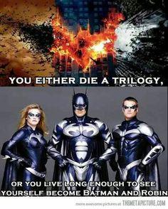 Die a trilogy or...
