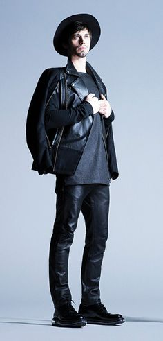 from the LaMarque Fall/Winter 2014 Men's Collection #leather #menswear #lamarquecollection #fw14