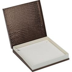 Avenue Large Necklace Box...(61-6111:100000:T).! Price: $129.99 #necklacebox #jewelrybox