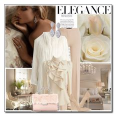 """""""Pure elegance"""" by littlefeather1 ❤ liked on Polyvore featuring Derek Lam, Giamba, Jimmy Choo, STELLA McCARTNEY, topsets and polyvoreeditorial"""