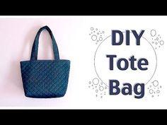 DIY Tote Bag Tutorial / Easy Sewing Projectsㅣmadebyaya - YouTube