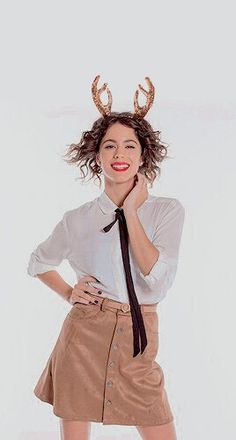 TINI❤ Disney Channel Original, Celebrity Singers, Teen Actresses, Look Fashion, High Waisted Skirt, It Cast, Mini Skirts, Photoshoot, Celebrities