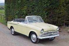 1960 Hillman Minx Series IIIA Convertible Classic Cars British, British Sports Cars, Classic Trucks, American Graffiti, Harrison Ford, Jaguar, Aston Martin, Bristol, Lotus