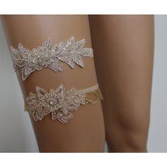 FREE SHİP Wedding Garters,Champagne Lace Bridal Garter,Lingerie,Bridal... ($20) ❤ liked on Polyvore featuring intimates, garter lingerie, bridal lingerie, bride lingerie, wedding lingerie and lace bridal lingerie
