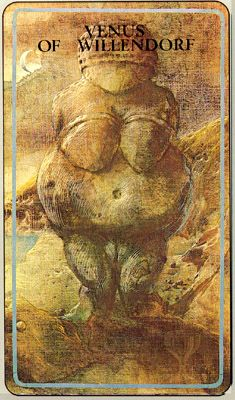 Haindl Tarot - Mother of Cups