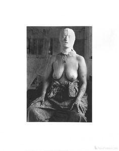 Kiki Smith- Face In Plaster-SIGNED