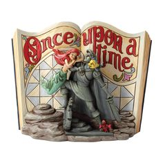 Enesco Disney Tradition - Figurilla Once Upon a Time con La Sirenita Ariel, de resina, altura de 18 cm, multicolor: Amazon.es: Hogar