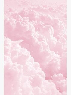 'Pink Clouds' Poster by arealprincess - Cloud Photos Bedroom Wall Collage, Photo Wall Collage, Picture Wall, Pink Clouds Wallpaper, Smoke Wallpaper, Baby Pink Wallpaper Iphone, Pink Wallpaper In Bedroom, Screen Wallpaper, Photo Rose