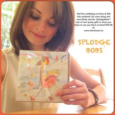 'Splodge Bobs' A range of children's birthday cards illustrated by artist, Claire Louise. www.clairelouise.eu