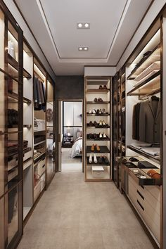 Creating a wardrobe design to make your own wardrobe can be the best way to ensure that you get a wardrobe that is created specifically for you. Creating a custom wardrobe design will allow you to factor in the various… Continue Reading → Walk In Closet Design, Bedroom Closet Design, Closet Designs, Modern Bedroom Design, Modern Luxury Bedroom, Modern Hotel Room, Master Bedroom Closet, White Bedroom, Bedroom Designs