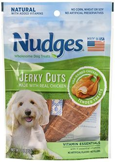 Nudges Jerky Cuts Dog Treats, Chicken Vitamin Essentials, 3 Ounce ** You can get additional details at the image link. (This is an affiliate link and I receive a commission for the sales) Dog Snacks, Dog Treats, Dog Vitamins, Chicken Tenders, Pet Supplies, Essentials, Image Link, Health, Dogs