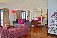 True Blue Bay Resort in Grenada... one of the nicest suites we've seen.