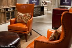 Leather Chairs from Bradington-Young, a Hooker Furniture company.