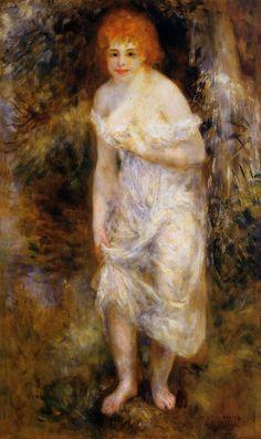 The Spring  --   Pierre Auguste Renoir - circa 1895