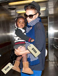 Charlize Theron and son Jackson